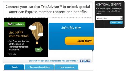 TripAdvisor & American Express
