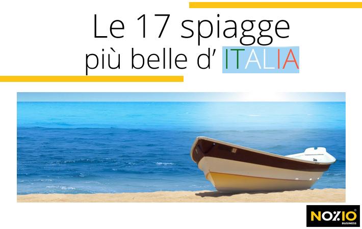 Le 17 spiagge più belle d'Italia - Nozio Business