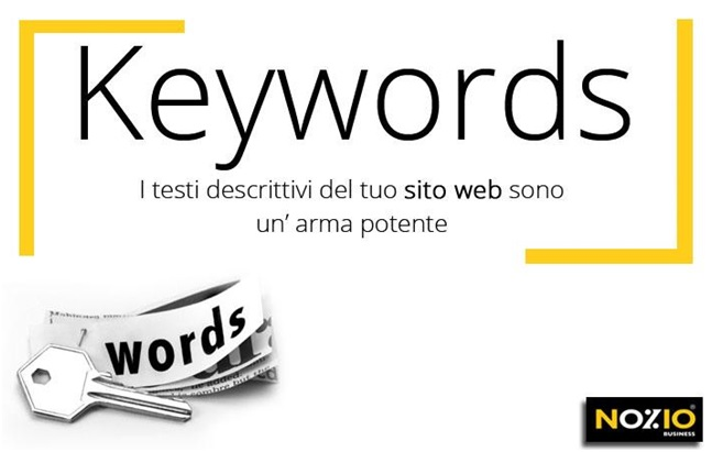 keywords_ testi descrittivi