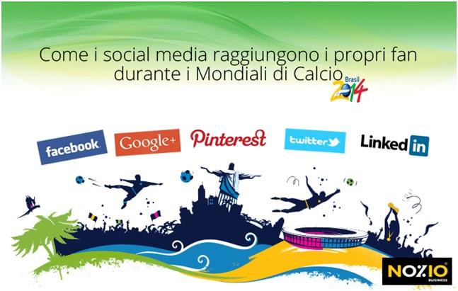 social media e mondiali di calcio