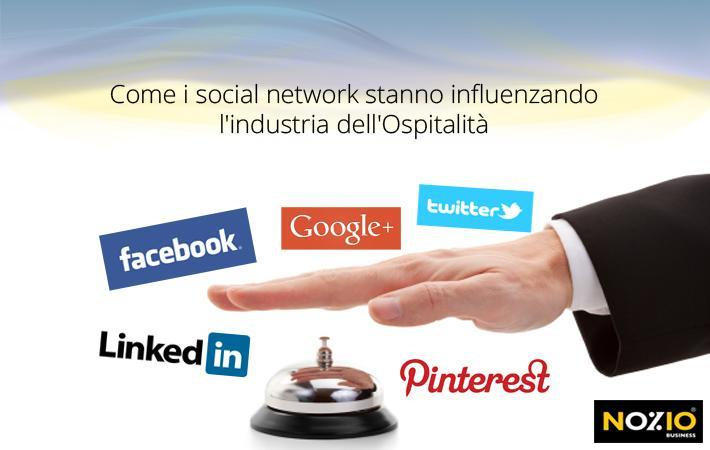 Come i social network stanno influenzando l'industria dell'Ospitalità
