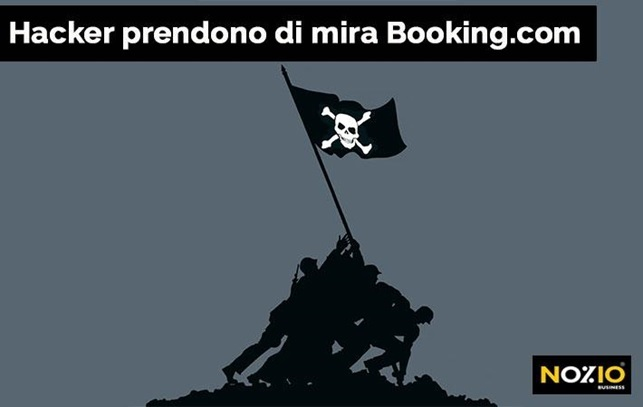 hacker prendono di mira booking