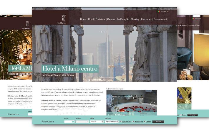 Portfolio blog Nozio - Hotel Cavour Milano