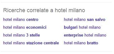 ricerche correlate hotel milano