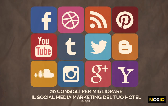 social media marketing hotel