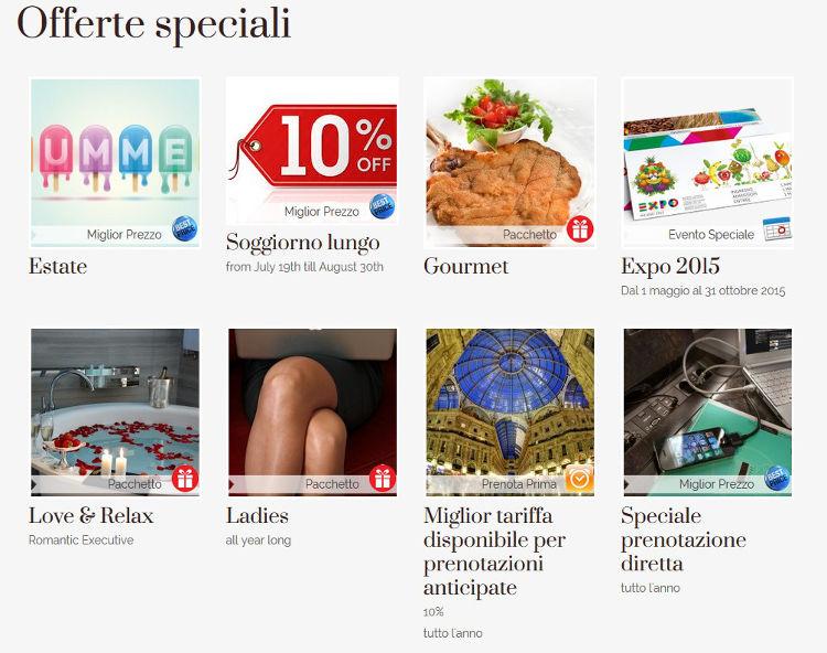 Hotel Cavour Milano - Applicazione Offerte Speciali