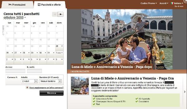 Hotel4 Venezia - Pacchetto2