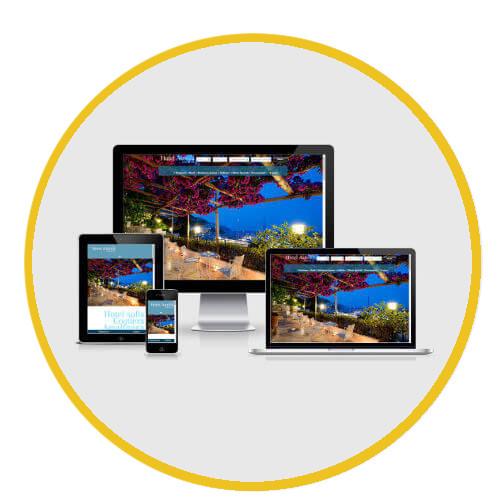 Hotel Aurora - Sito web CMS full responsive