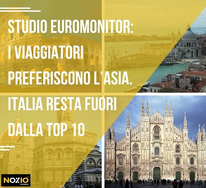 I viaggiatori vanno in Asia. L'Italia resta fuori dalla top 10 - Nozio Business