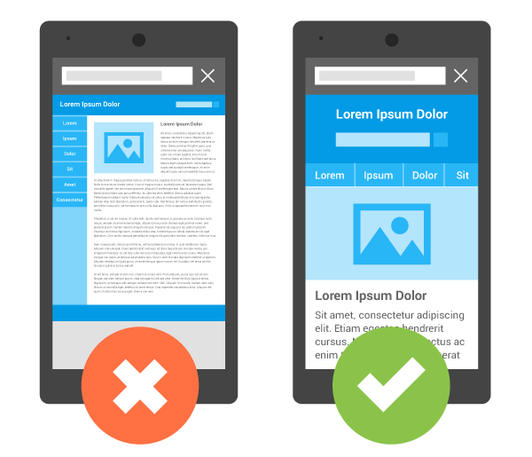 viewport-google responsive mobile friendly