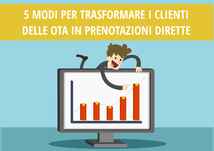 5 modi per trasformare i clienti delle OTA in prenotazioni dirette - Nozio Business