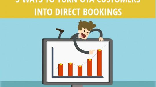 5 ways to turn OTA customers into direct bookings