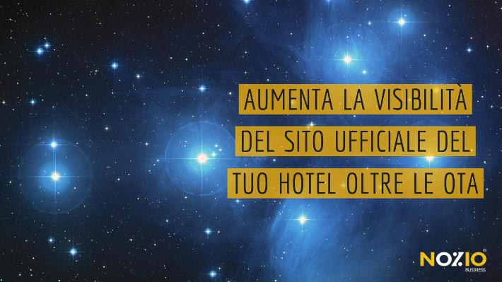 Aumenta la visibilità del Sito Ufficiale del tuo Hotel oltre le OTA - Nozio Business