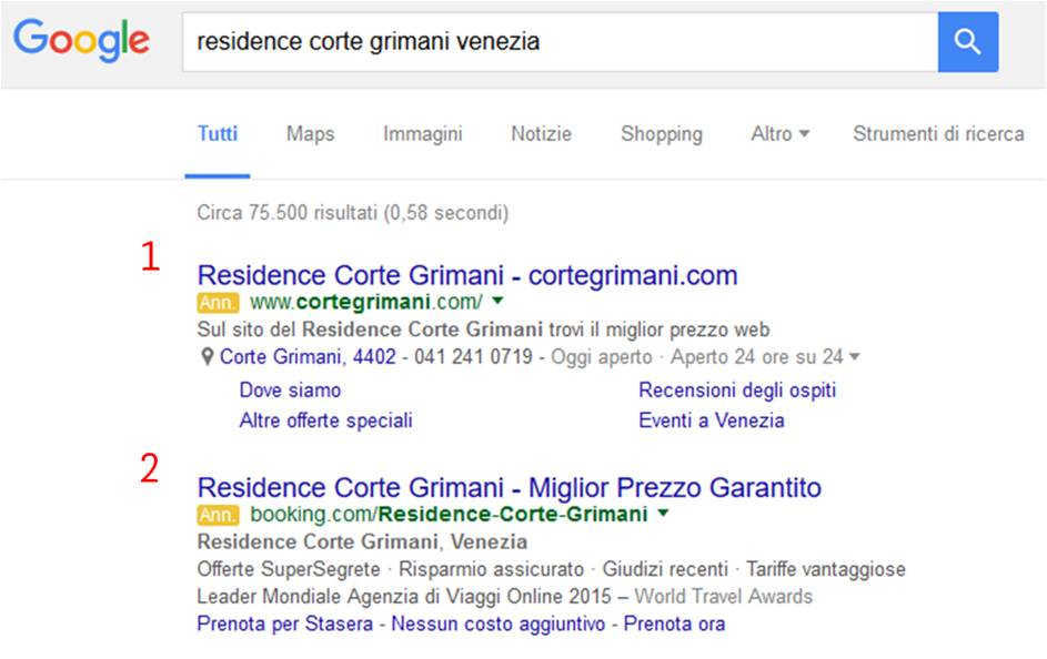 Residence Corte Grimani Brand Protection