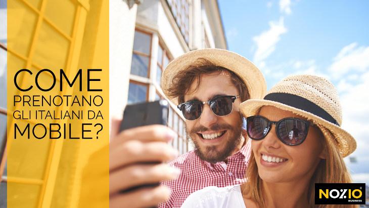 Come prenotano gli italiani da mobile - Nozio Business
