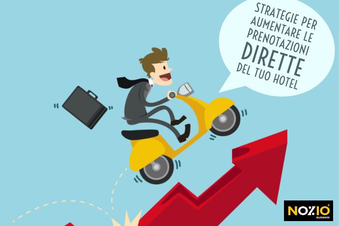 Strategie per aumentare le prenotazioni dirette del tuo Hotel - Nozio Business