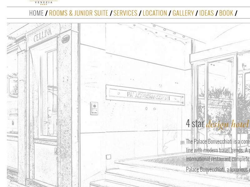 Design Luxury Hotel Venice   Palace Bonvecchiati