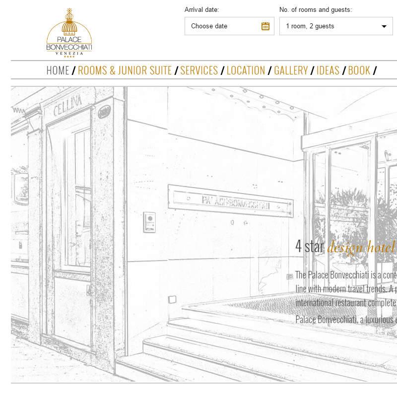 Palace bonvecchiati venice for Design hotel venice