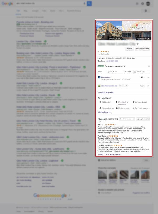 Scheda Google MyBusiness nella Ricerca Google_3