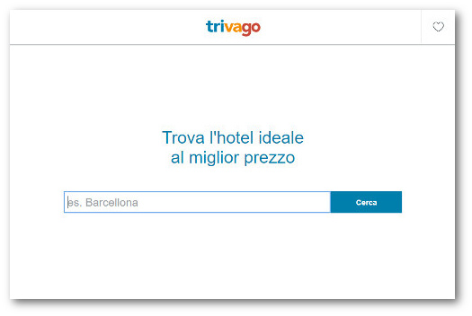trivago-home-page